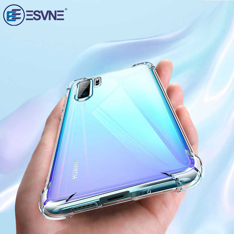 Luxury Shockproof Silicone Phone Case For Huawei p30 lite case p20 pro p smart 2019 mate 20 10 lite Nova 3 3i honor 8x 10i case