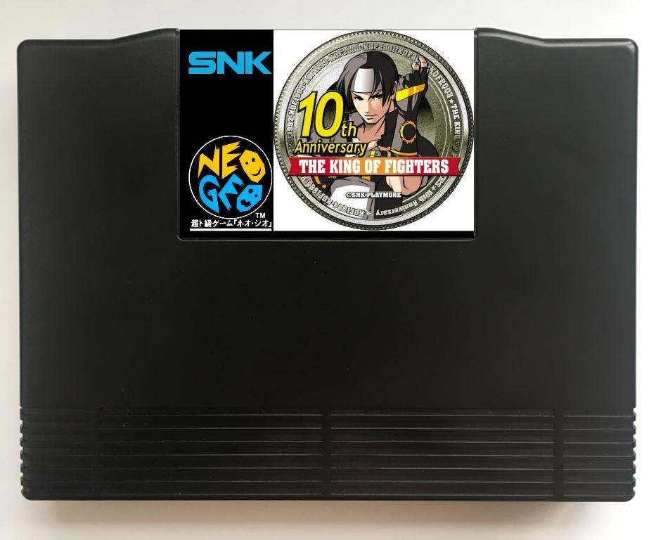 NEOGEO AES KOF 10th Anniversary(Hacked) Game Cartridge for SNK NEO GEO AES ConsoleNEOGEO AES KOF 10th Anniversary(Hacked) Game Cartridge for SNK NEO GEO AES Console