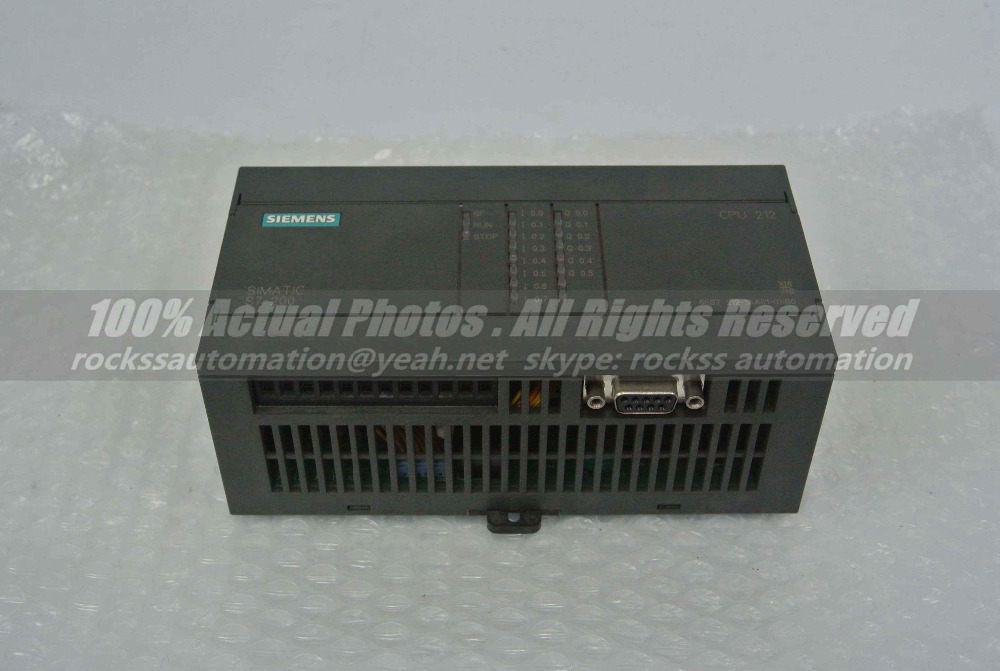 6ES7 212-1AA01-0XB0 6ES7212-1AA01-0XB0  Used 100% Tested With Free DHL / EMS