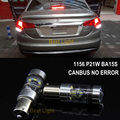 2x1156 ba15s p21w canbus nenhum erro brilhante chip de sharp led lâmpada de Backup Luz Reversa Para CITROEN C2 C3 C4 C5 C8