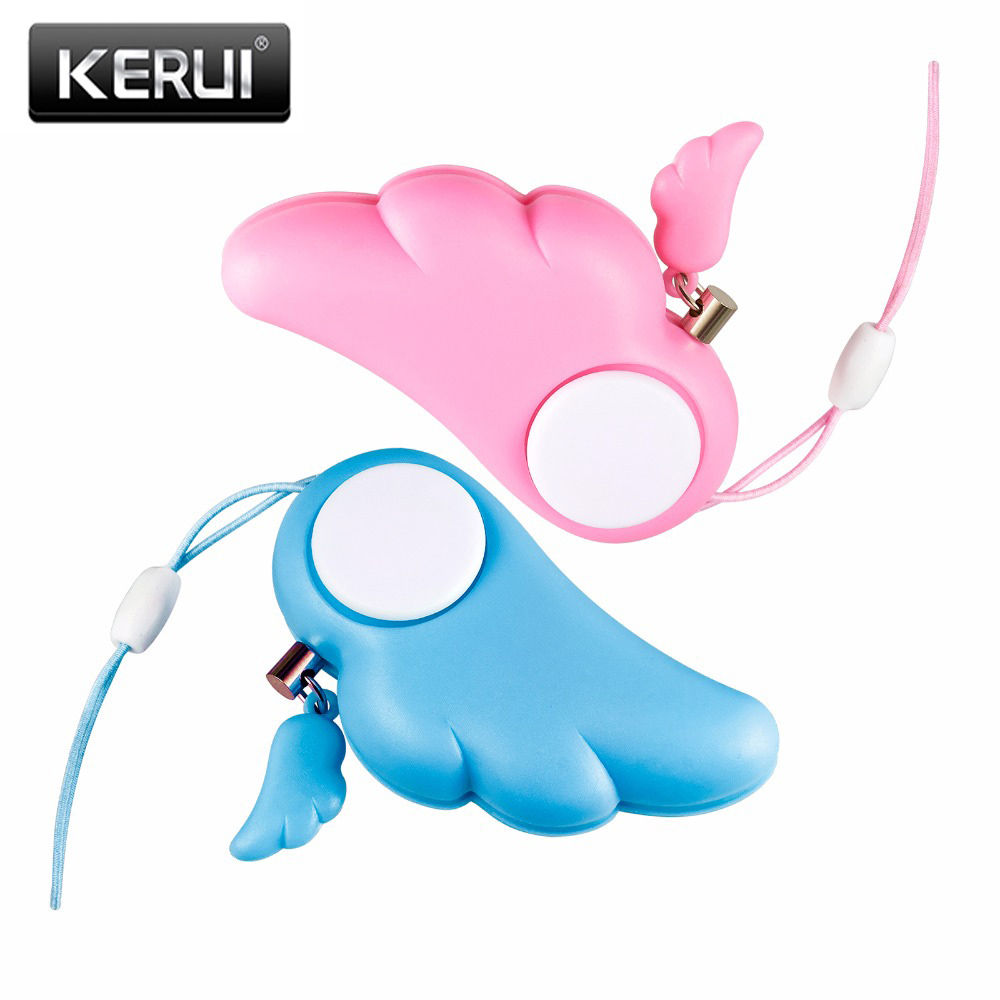 2pcs Personal Attack Safety Anti Rape Anti-Attack Alarm Security Loud 90dB Self Defense Supplies For Kids Camping Protection