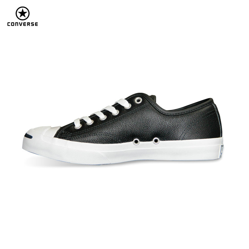 2017 new Original Converse JACK PURCELL sneakers shoes man and women Unisex PU Leather black color Skateboarding Shoes 101503 original converse selene monochrome leather women s skateboarding shoes sneakers