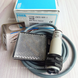 Image 5 - CDM 2MX + MR 1 FOTEK ใหม่กระจก Reflex ประเภท Photoelectric Switch Sensor เดิม