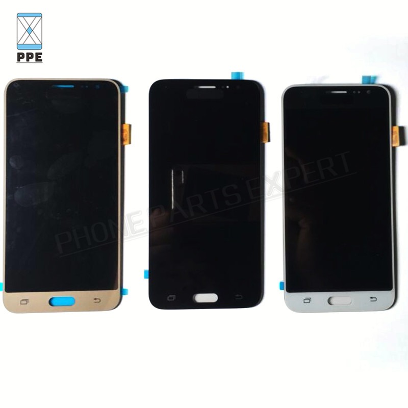Samsung Galaxy J3 j320 LCD Display J320A J320F J320M Touch screen with digitizer Assembly black White Gold Color (5)