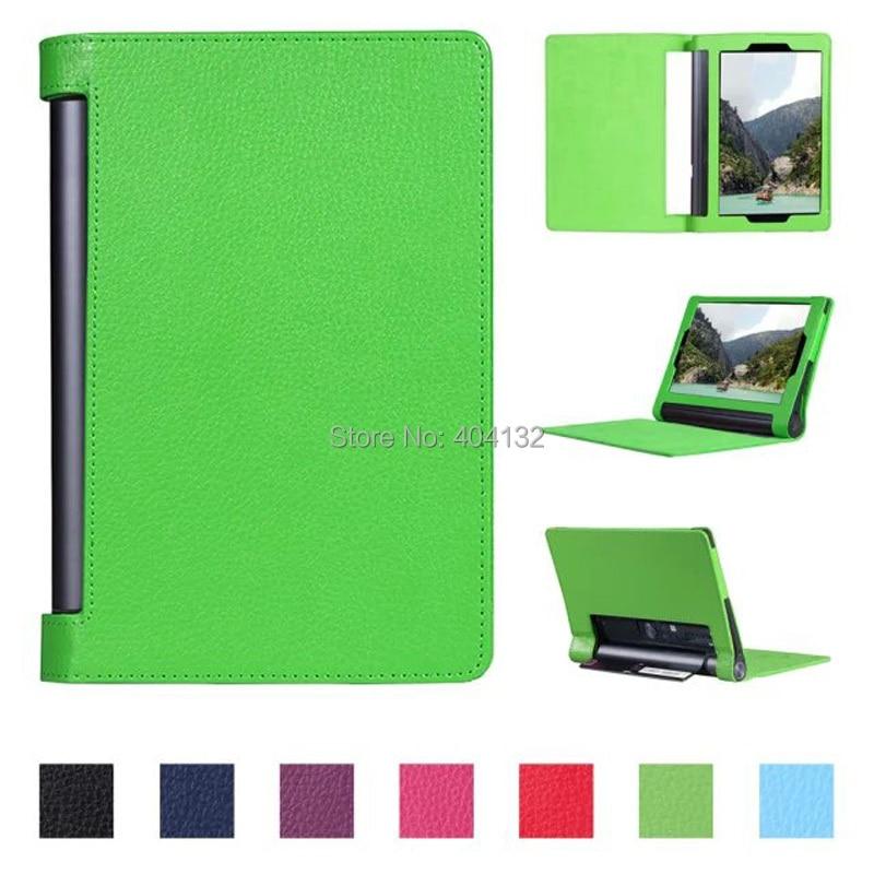 Good Quality Litchi Folio Stand PU Cover Case For Lenovo Yoga Tab3 Plus 10 1 Cases