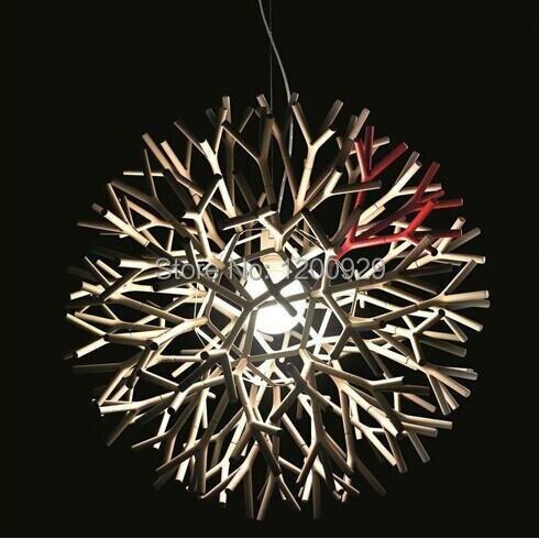 Korallen Baum Pendelleuchten Moderne Glas Weiss Schwarz Anhnger Lampen Wohnzimmer Freies Verschiffen PLL 621
