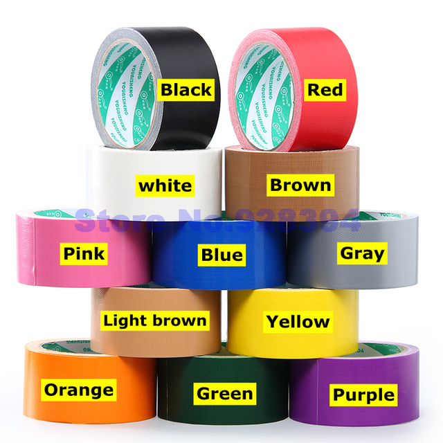 5cmx10m single sided carpet cloth duct tape multi purpose durable 5cmx10m single sided carpet cloth duct tape multi purpose durable waterproof easy tear tape aloadofball Image collections