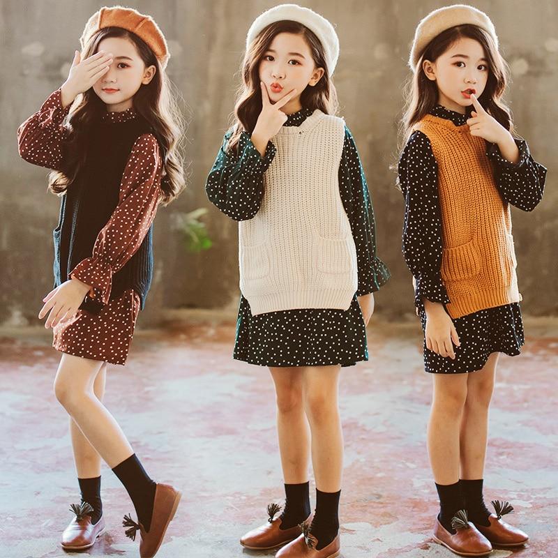 80b72e901689 teenage girls clothing set kids clothes autumn 2018 ensemble fille ...