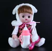 [New] Cute 28cm electronic music sounding princess girl doll Reborn Baby Dolls Sing song newborn doll model Figures girl gift