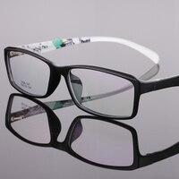 High Quality Men TR90 Brand Glasses Frame Clear Fashion Myopia Glasses Optical Eyeglasses Frame Prescription Frames