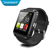 Bluetooth smartwatch u8 android muñeca reloj montre conector para samsung note 2/note 3 htc lg huawei xiaomi smartphones