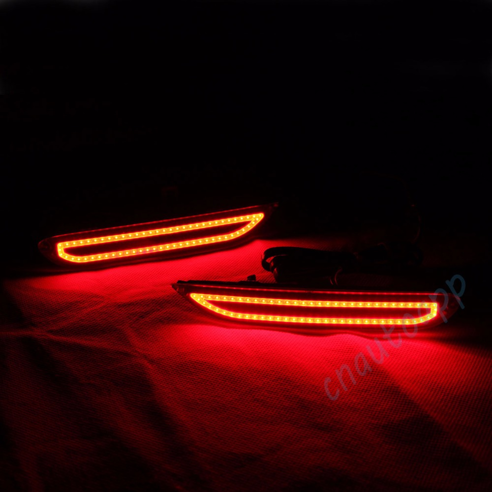 Rear Bumper Warning Light Brake Lamp Running Light For Nissan X-Trail Qashqai Infiniti Q50L 50S/Q60/Q70/QX30/QX56/QX80/QX60/JX35