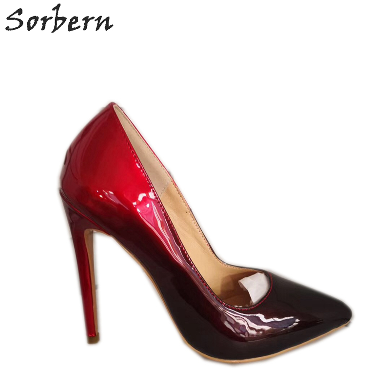 Sorbern Colorful Women Pumps Shoes Slip On Pointed Toe Womens Shoes 2019 Spring Botines Mujer Patent Leather Pumps ShoesSorbern Colorful Women Pumps Shoes Slip On Pointed Toe Womens Shoes 2019 Spring Botines Mujer Patent Leather Pumps Shoes