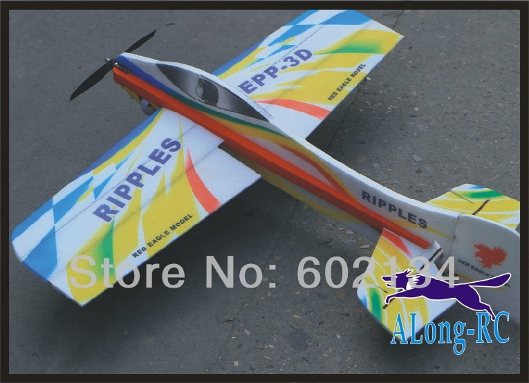 EPP PLANE/ RC 3D airplane/RC MODEL HOBBY TOYS/-wingspan 1000mm ripples 3D airplane(kit) free shipping rc plane epp airplane model dw hobby rainbow fly wing 800mm wingspan edf version rc airplane kit