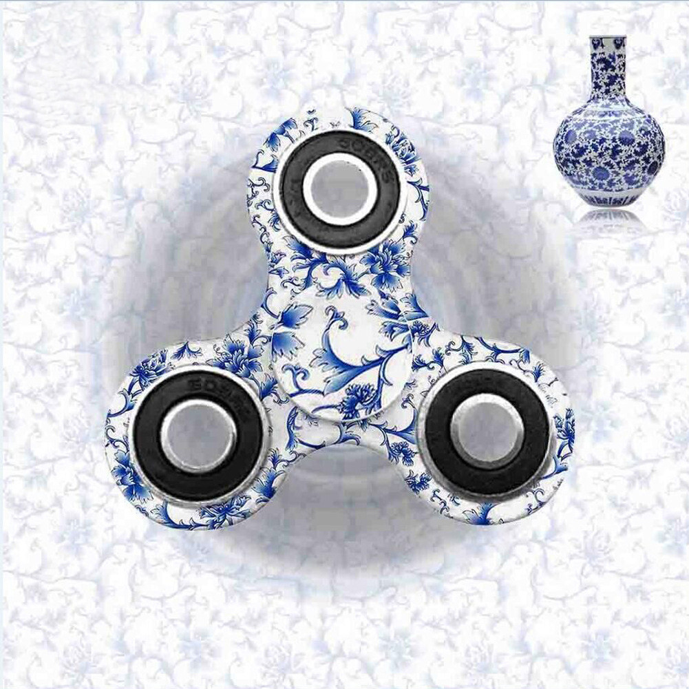 Fidget Spinner Triangle Single Finger Decompression Gyro Hand Spinner Fingertip Gyro