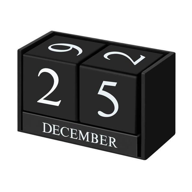 Birthday Reminder Calendar Calendar Block Wooden Perpetual Desk
