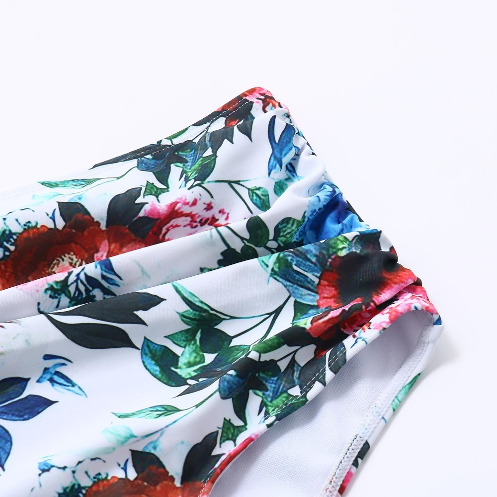 HTB1Har aIvrK1Rjy0Feq6ATmVXan RUUHEE Bikini 2019 Swimsuit Swimwear Women High Waist Tankini Bikini Set Push Up Bathing Suit Women Beachwear Plus Size Swimwear