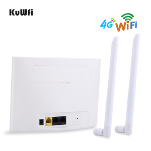 Image 4 - KuWfi 4G LTE CPE Router 150Mbps Wireless CPE Router 3G/4G SIM Card Wifi Router Support 4G to Wired Network up to 32 Wifi Devices