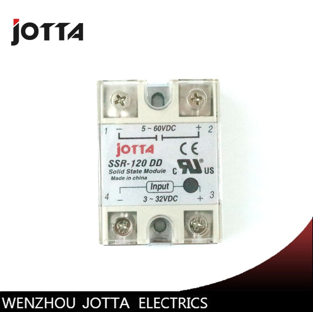 SSR -120DD DC control DC SSR white shell Single phase Solid state relay 120A input 3-32V DC output 5~60V DC крем bioline jato acid cream ph balancing 50 мл