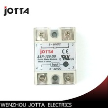 цена на SSR -120DD DC control DC SSR white shell Single phase Solid state relay 120A input 3-32V DC output 5~60V DC