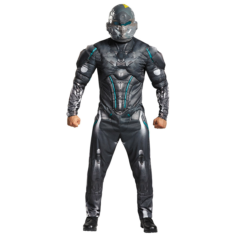 Adult Halo Spartan Locke Costumes Cosplay Clothing From Halo 5 Guardians Halloween Carnival Party Fancy Costume For Role-Playing
