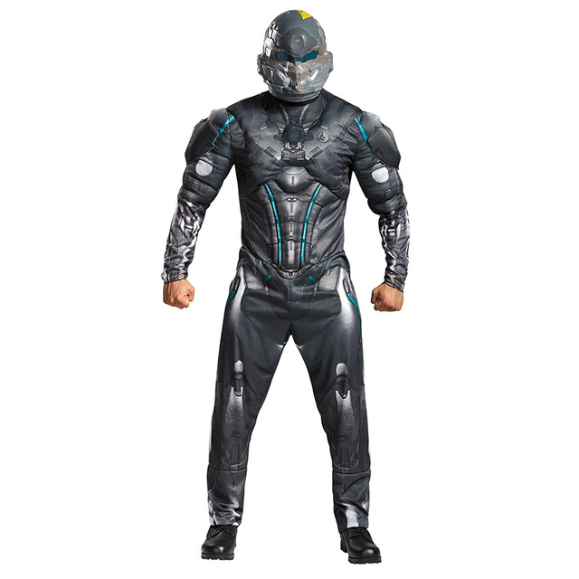 adult halo spartan locke costumes cosplay clothing from halo 5 guardians halloween carnival party fancy costume
