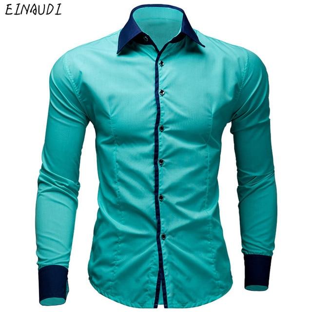 Camisas de vestir para hombre nuevas camisas informales