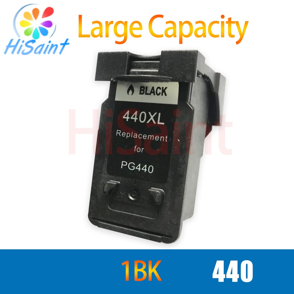 hisaint PG440 <font><b>XL</b></font> PG <font><b>440</b></font> PG-<font><b>440</b></font> Refilled Ink Cartridge for <font><b>Canon</b></font> PIXMA MG2180 MG2240 MG3180 MG4180 MG4280 MX378 MX438 image