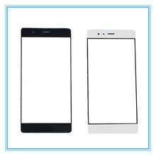 A High Quality Front Glass Replacement Cover Touch Screen Outer Glass Lens For Huawei Ascend P9 Lite with logo With Tracking