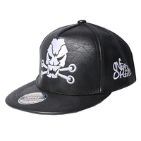 Hot Sale Men And Women Ghosts Winter Baseball Cap Especially Decorative Leather Snapback Hat Skull Brand
