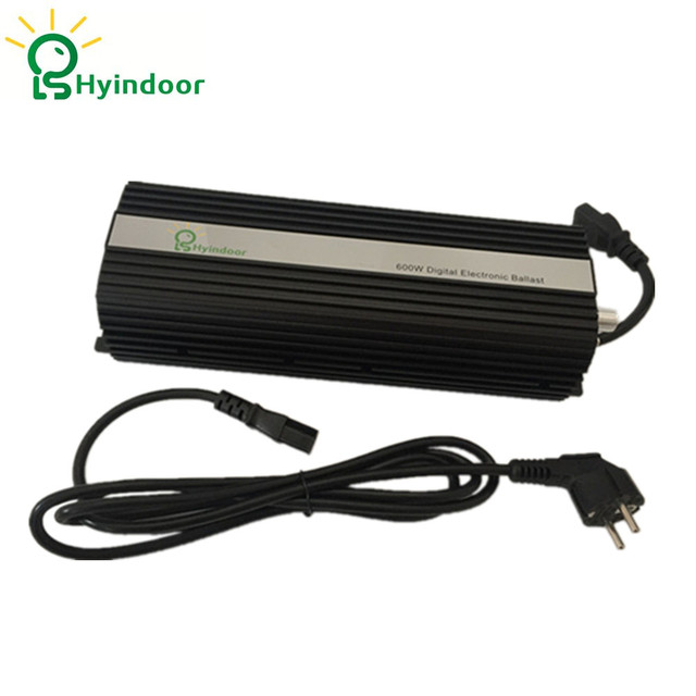Digital 600w EU PLUG Ballasts for Garden Planter Grow Lights HPS MH Bulbs