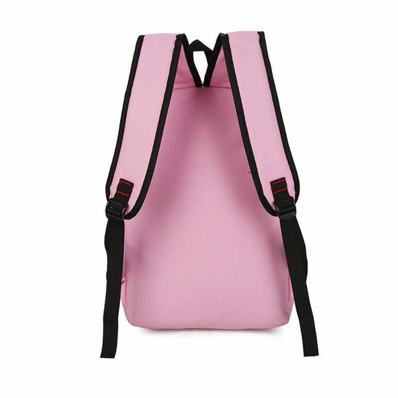 Японский стиль 4 шт./компл. женский рюкзак школьные сумки милые рюкзаки с принтом кошек для подростков женский туристический рюкзак рюкзаки Mochila