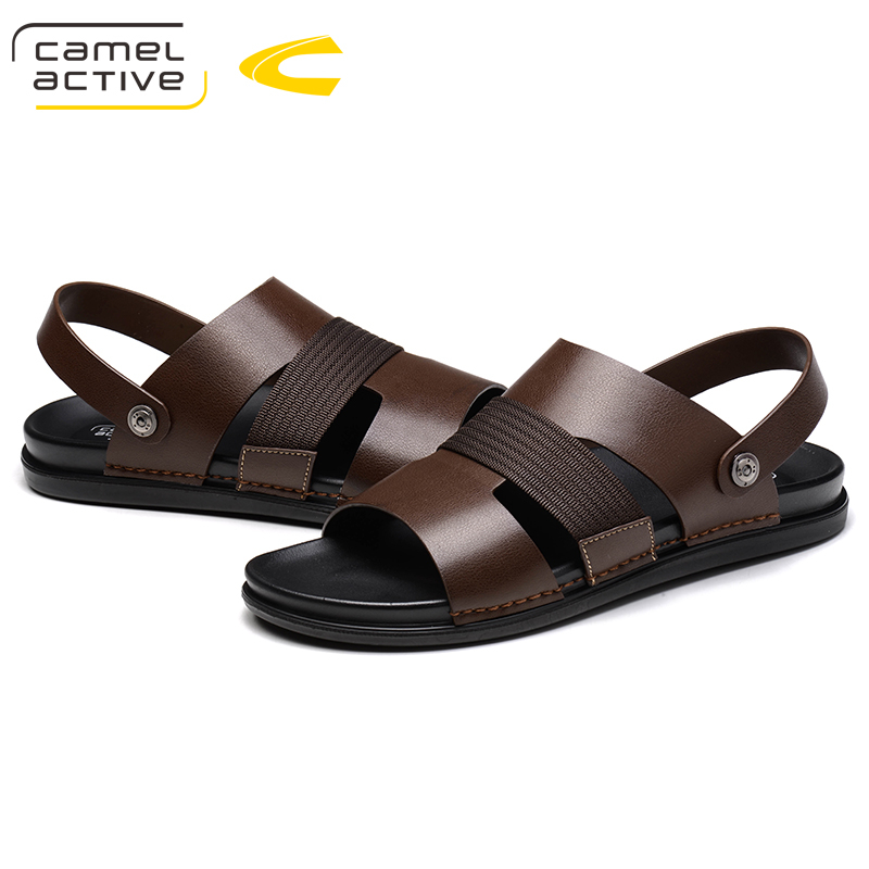 Camel Active Summer 2018 Handmade Comfortabl PU Leather Male Sandals Men Shoes Casual Classic Sewing Water Beach SandaliasCamel Active Summer 2018 Handmade Comfortabl PU Leather Male Sandals Men Shoes Casual Classic Sewing Water Beach Sandalias