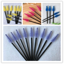 20 Pcs/Lot Disposable Eyelash Brushes Practical  Comb Portable Mascara Applicator for Beginner Manual Curler Hot