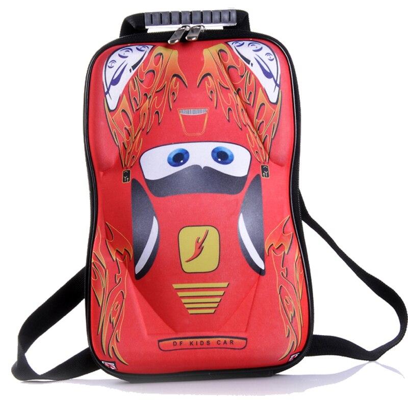 free shipping HOT SALE EVA Cars School bag Children font b backpacks b font font b
