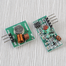 10Pcs 315Mhz RF Transmitter and Receiver Kit Wireless Module for Arduino