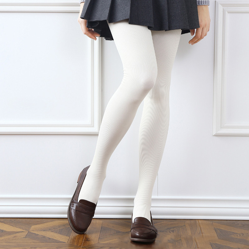 e8501ef1ae22c 2018 Warm Winter Tights For Women Wool Knitted Sexy Pantyhose Plus Size  Female Stockings Velvet Tights Hosiery Collant Femme