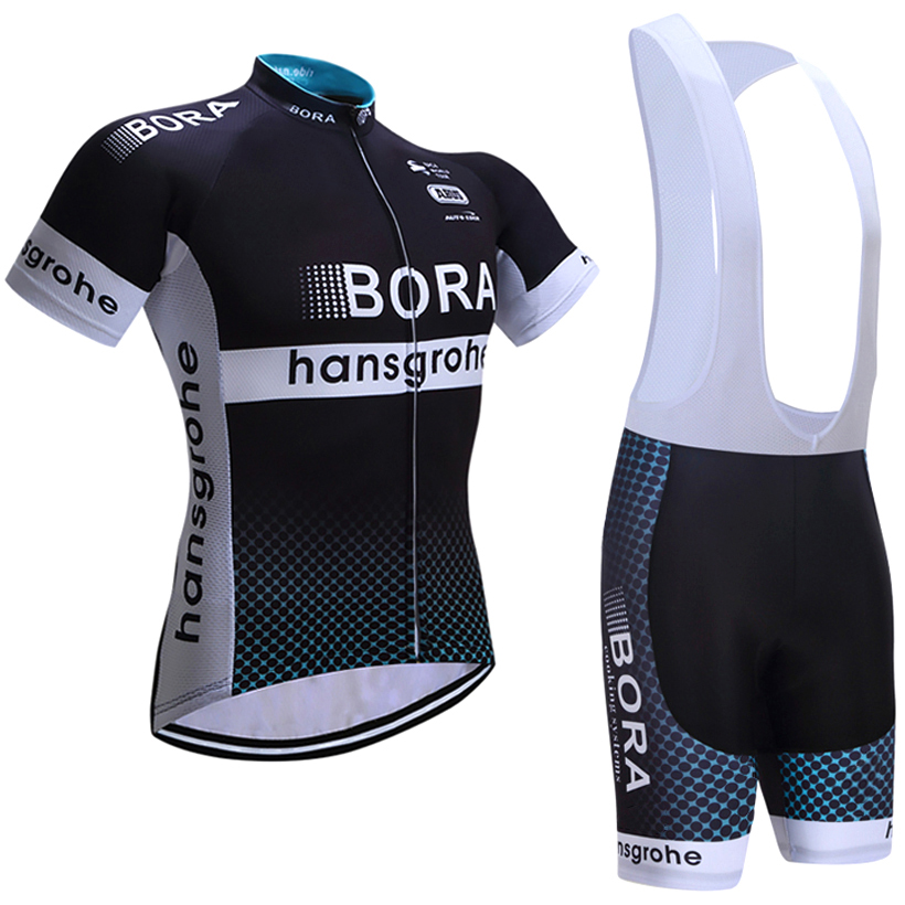UCI 2018 team Bora Cycling Clothing Bike jersey Quick Dry Mens Bicycle clothes short sleeves pro Cycling Jerseys bike shorts set