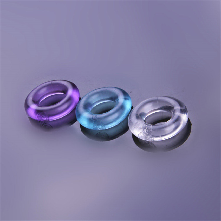 2 PCS Intimate  Sex Goods Erotic Accessories Toys Sexy Lingerie Silcone Cock Rings For Sex Games For Adults Bondage Bdsm Set