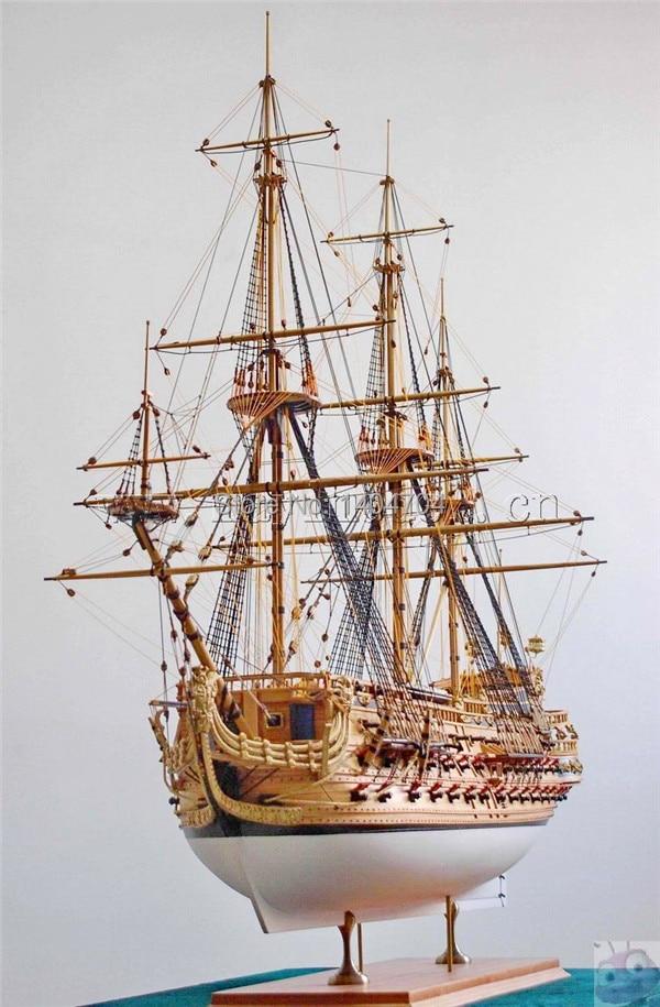 1/50 lujo clásico velero modelo de madera kits San Felipe buque ...