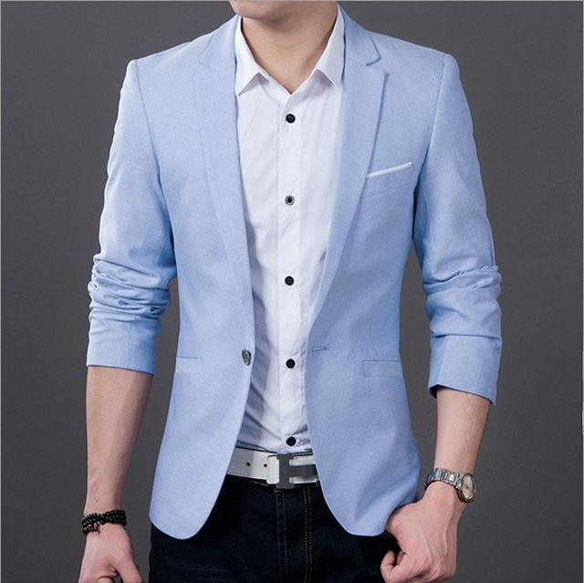 blazer men singers Fashion plaid dress suit jacket brand clothing Men's casual suits Korean Slim small Western singers dress