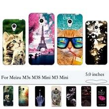 TPU Soft Case for Meizu M3s M3S Mini M3 Mini Case Cover Luxu