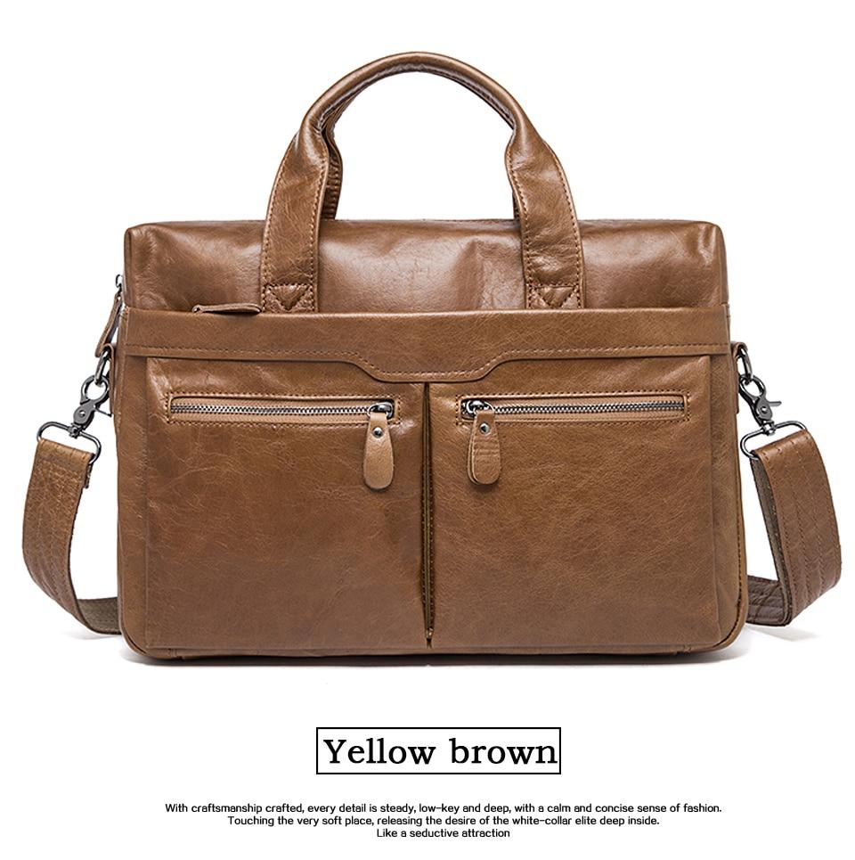 HTB1HawAborrK1RkSne1q6ArVVXa2 WESTAL genuine leather bag for men's briefcase bussiness laptop bags for documents messenger handbags tote briefcase 9005