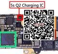 10 unids/lote, original nuevo q2 ic para iphone 5s usb de carga del cargador del ic chip de 4 pines