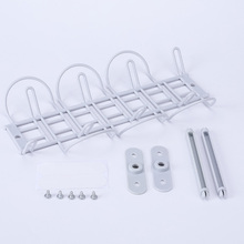 ABS Cable Rack Self Adhesive Holder Socket Storage Strong With Hanging Basket Table Bottom Shelf Management Kitchen Tidy
