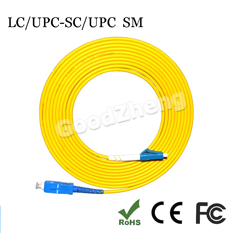 US MADE  2M      LC   to  MU   SM  Simplex   9//125 Fiber Optic Jumper Cable