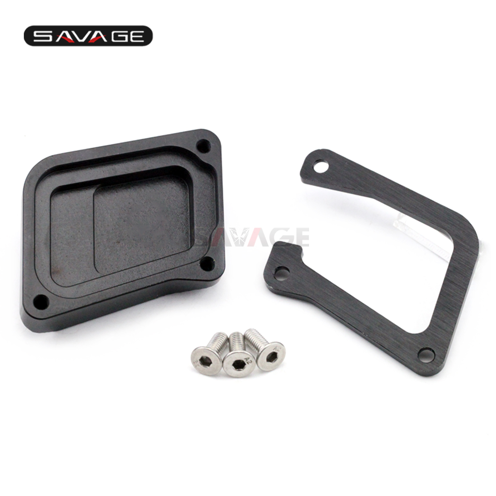 Stand Extension Plate For BMW R 1200 GS R1200GS 2004 2012 R 1200GS ADV 2008 2013 CNC Side Kickstand Motorcycle Accessories in Stands from Automobiles Motorcycles