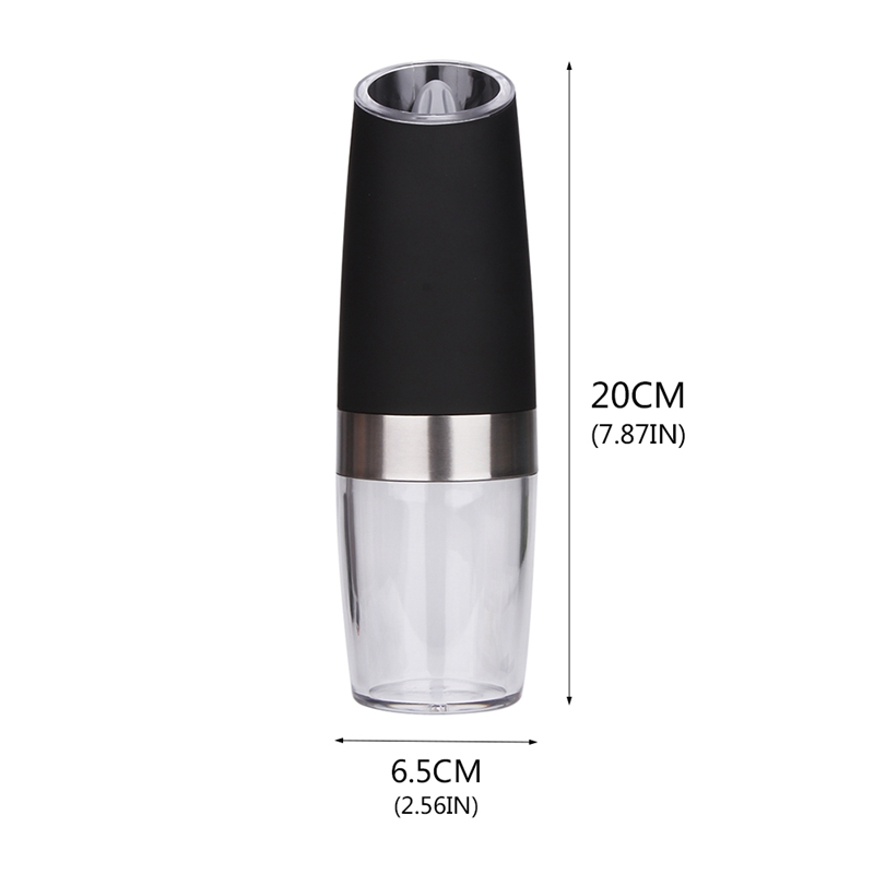 Tool Automatic mills Gravity Pepper Grinder Kitchen Seasoning Grinding LED Light Salt Mill Muller Automatic Electric