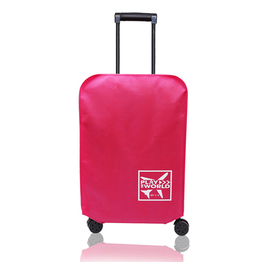 Protective Dust-Proof Travel Luggage Cover Thickened Waterproof Non-woven Fabric Outdoor Suitcase Accessories Anti-scratch