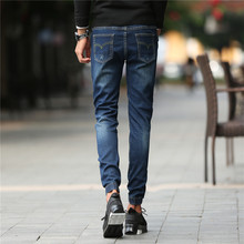 Fashion Men Jeans New Arrival Design Slim Fit Fashion Jeans For Men Good Quality Blue 962